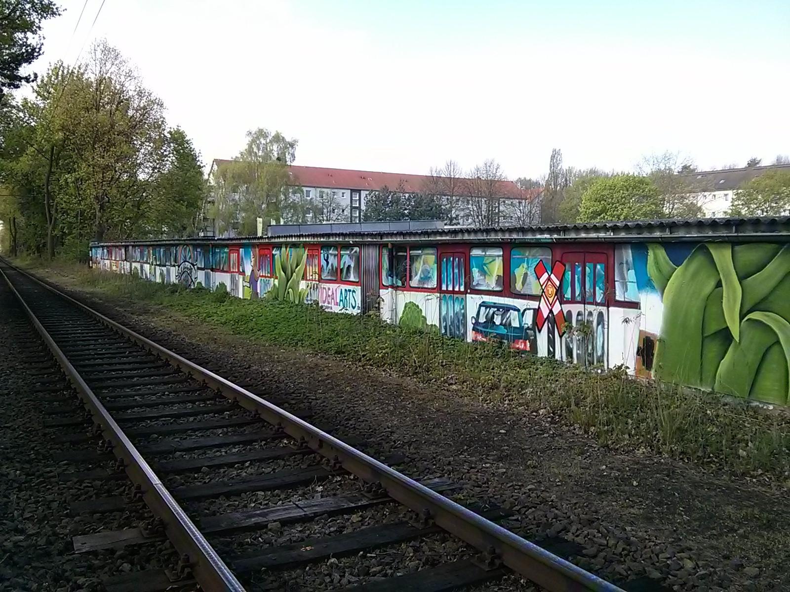 Garagenmalerei