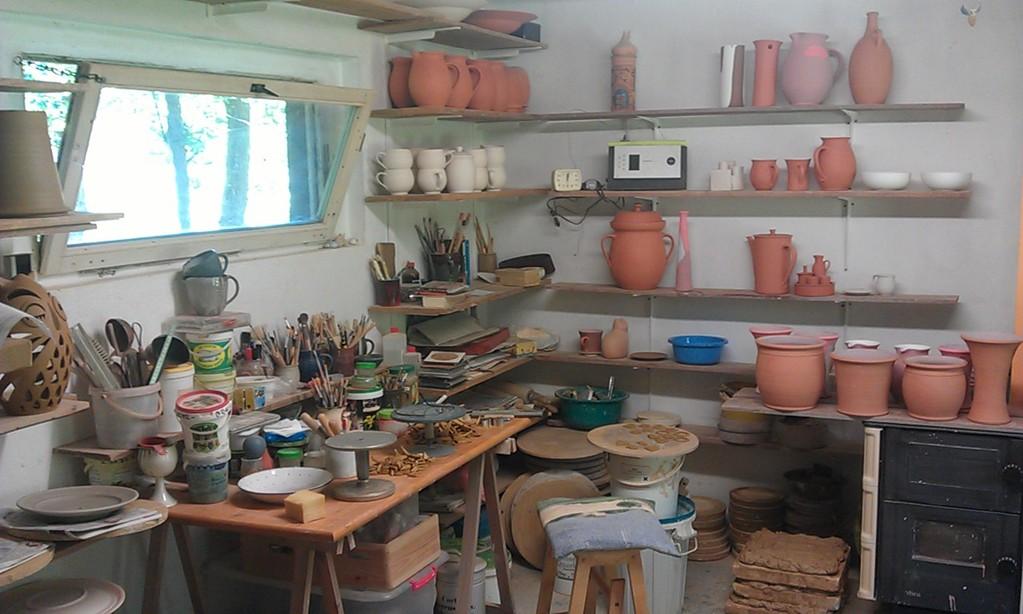 Töpferei-Werkstatt