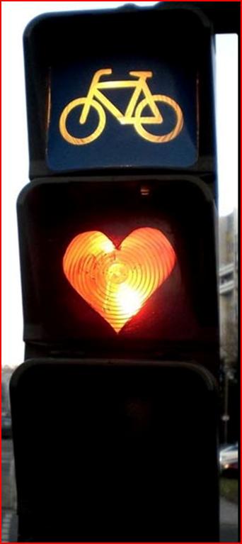 ein Herz für Radfahrer