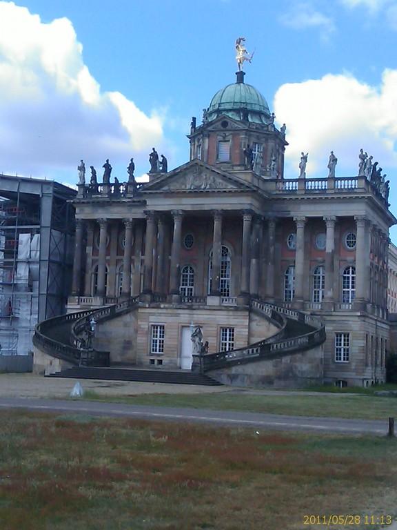Schlossbaustelle