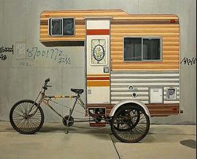 Fahrrad-Schnecke oder Holländer-Fahrrad?
