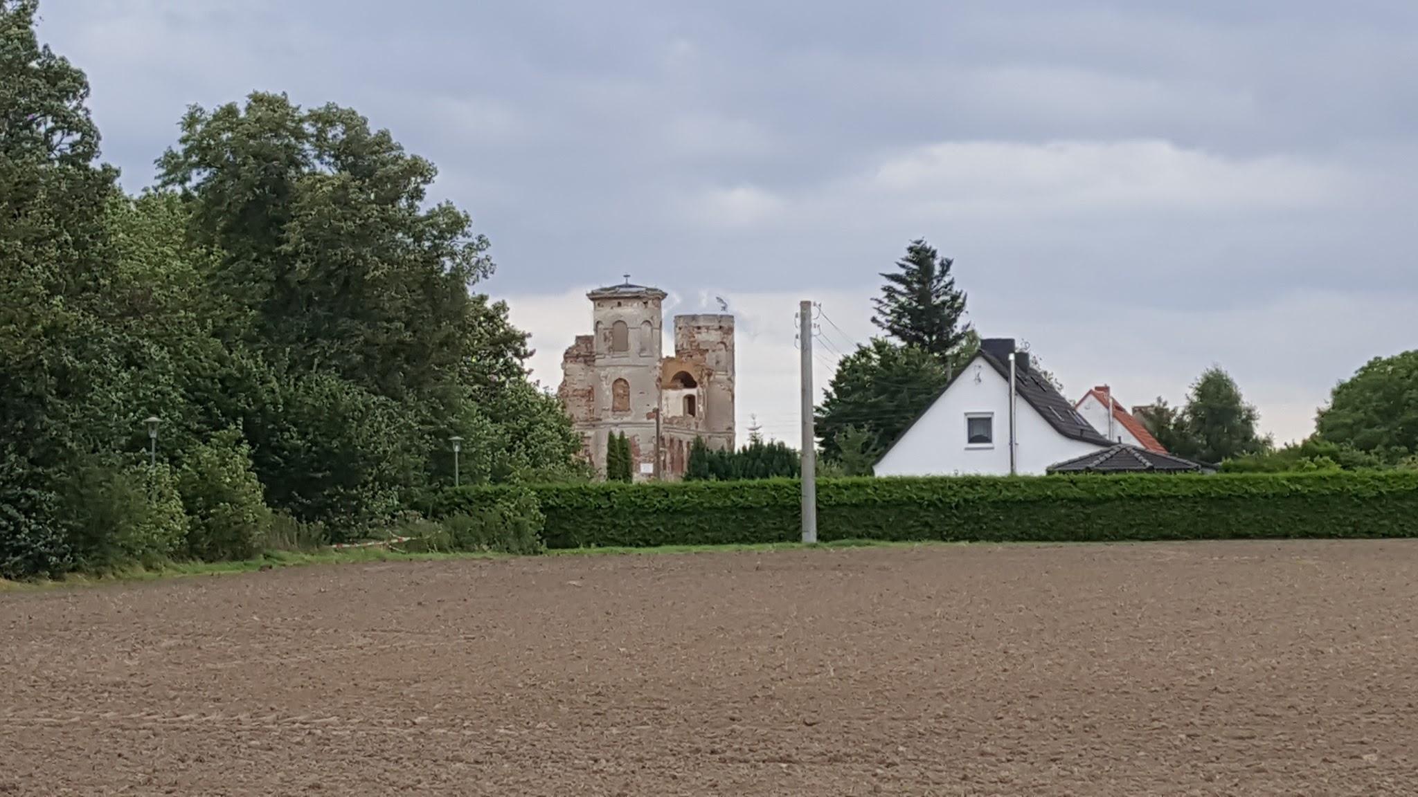 Burgruine bei Glewitz