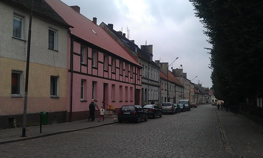 Straße in Mieszkowice
