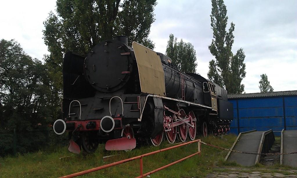 am Bahnhof Kostrzyn