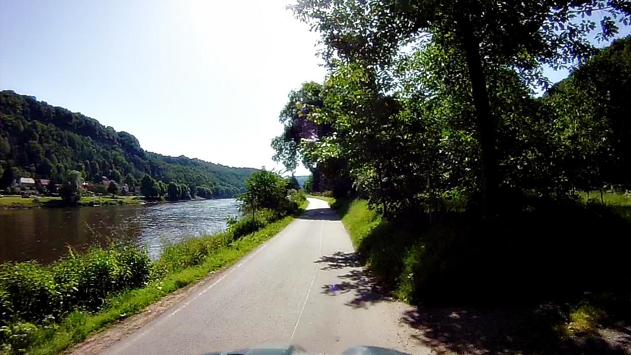 direkt an der Elbe