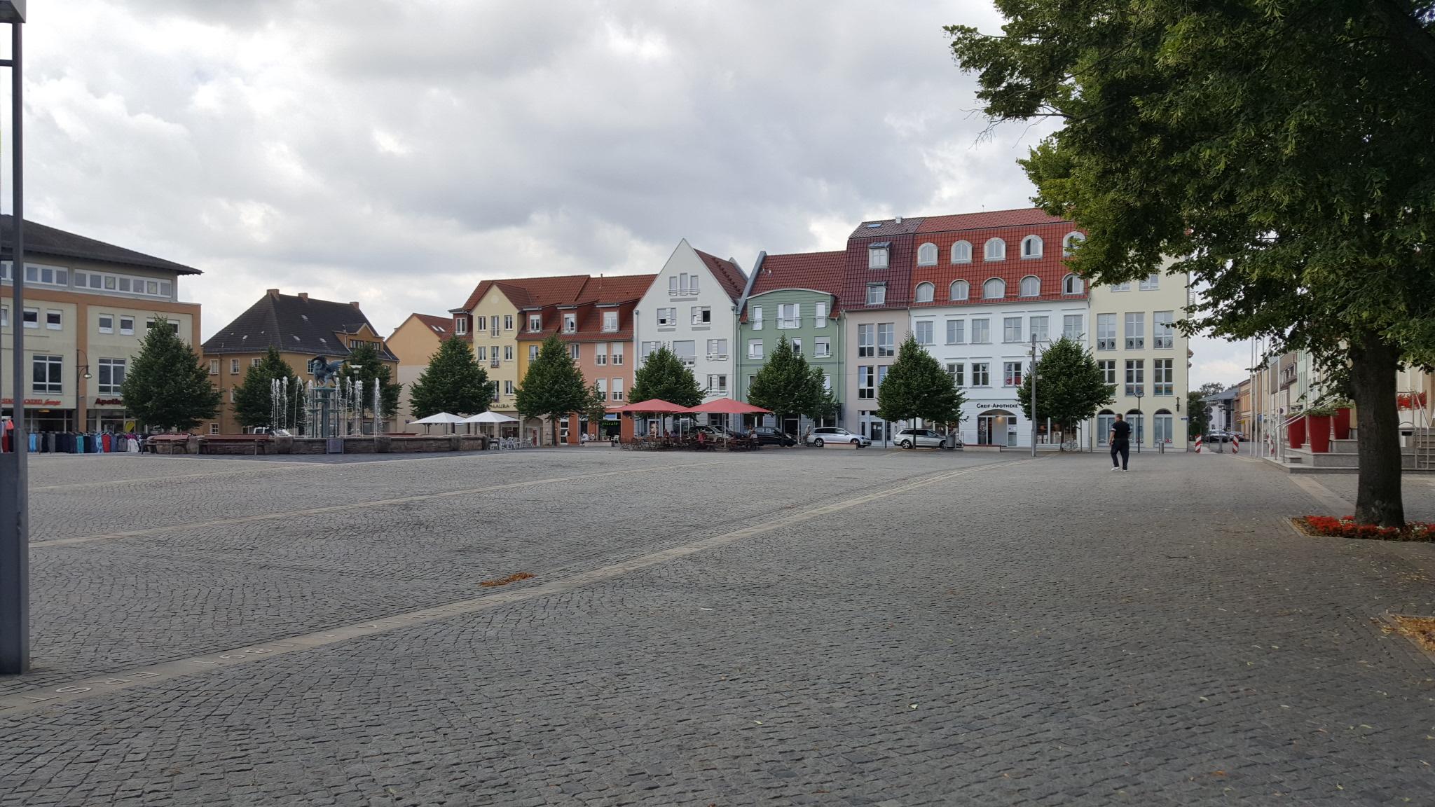 Anklam Marktplatz