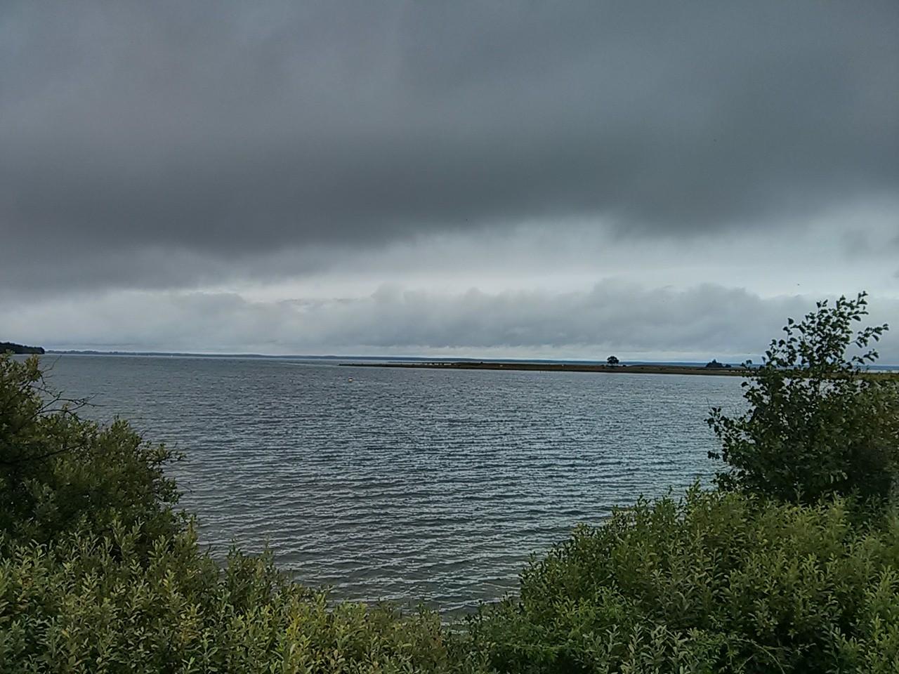 wolkig - aber trotzdem schön