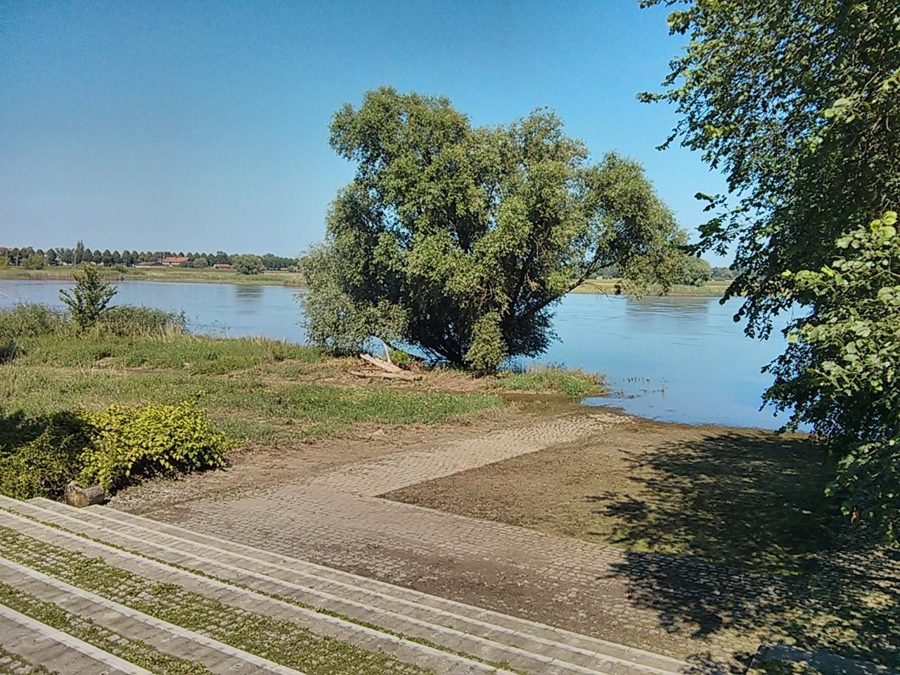 letzter Blick auf die Oder