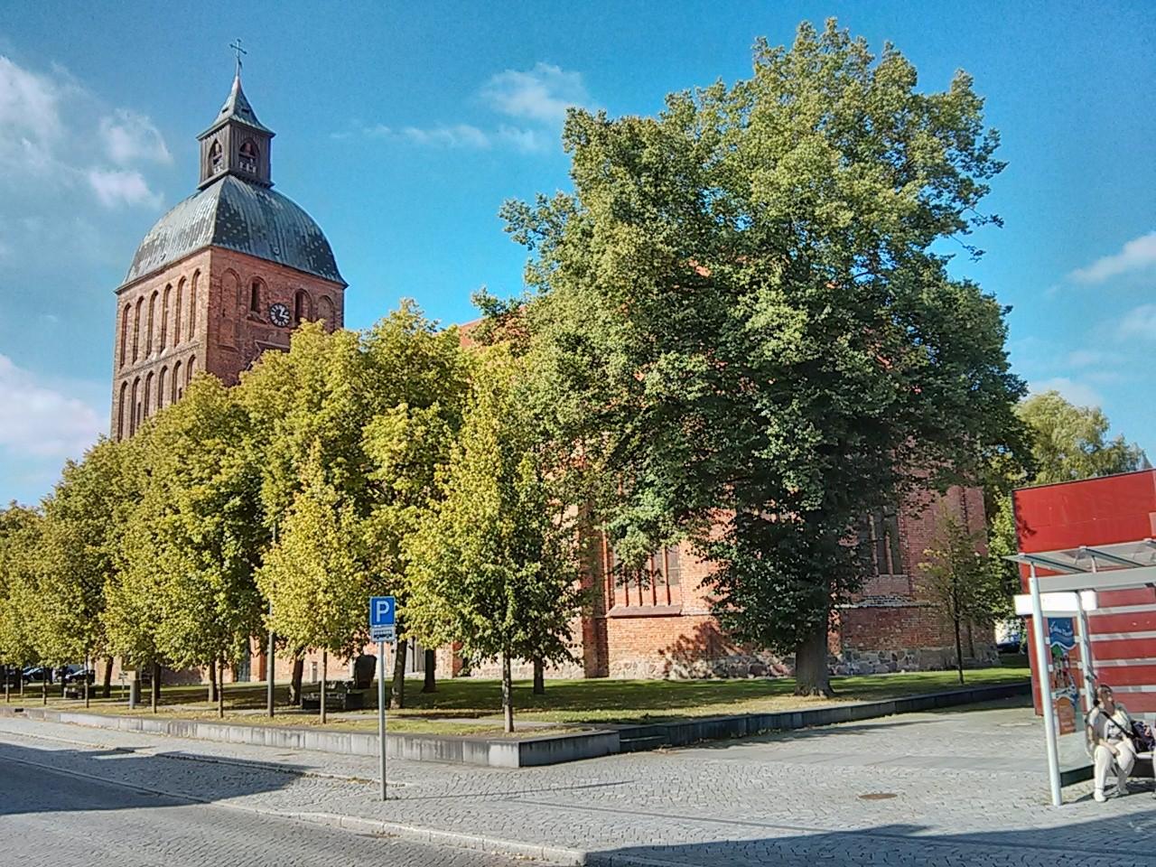 aus der Ferne jetzt ganz nah - Stadtkirche Ribnitz Damgarten