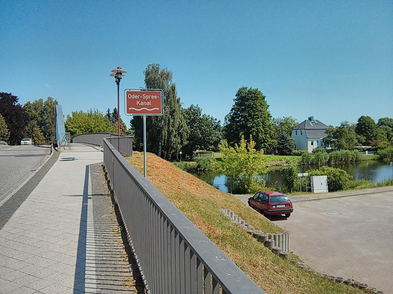 über den Oder-Spree-Kanal