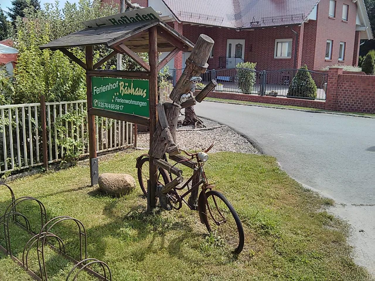 lange Rast oder Fahrrad vergessen  ;-)