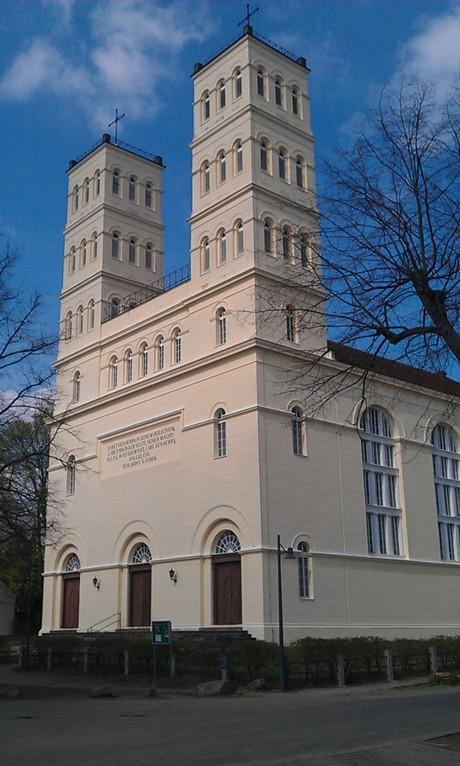 Schinkelkirche in Straupitz