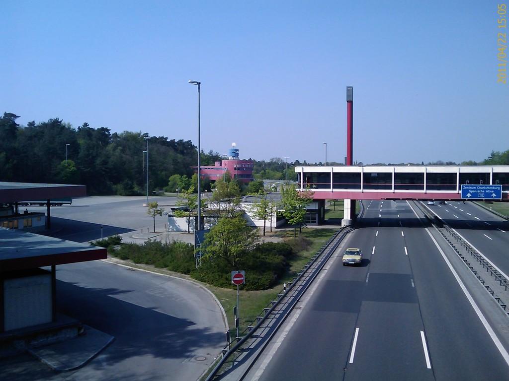 Dreilinden - war mal Grenzübergang