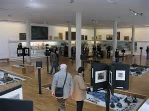 Une des salles du musée de l'Historial de Péronne Somme