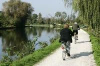 Balade à vélo le long de la Somme