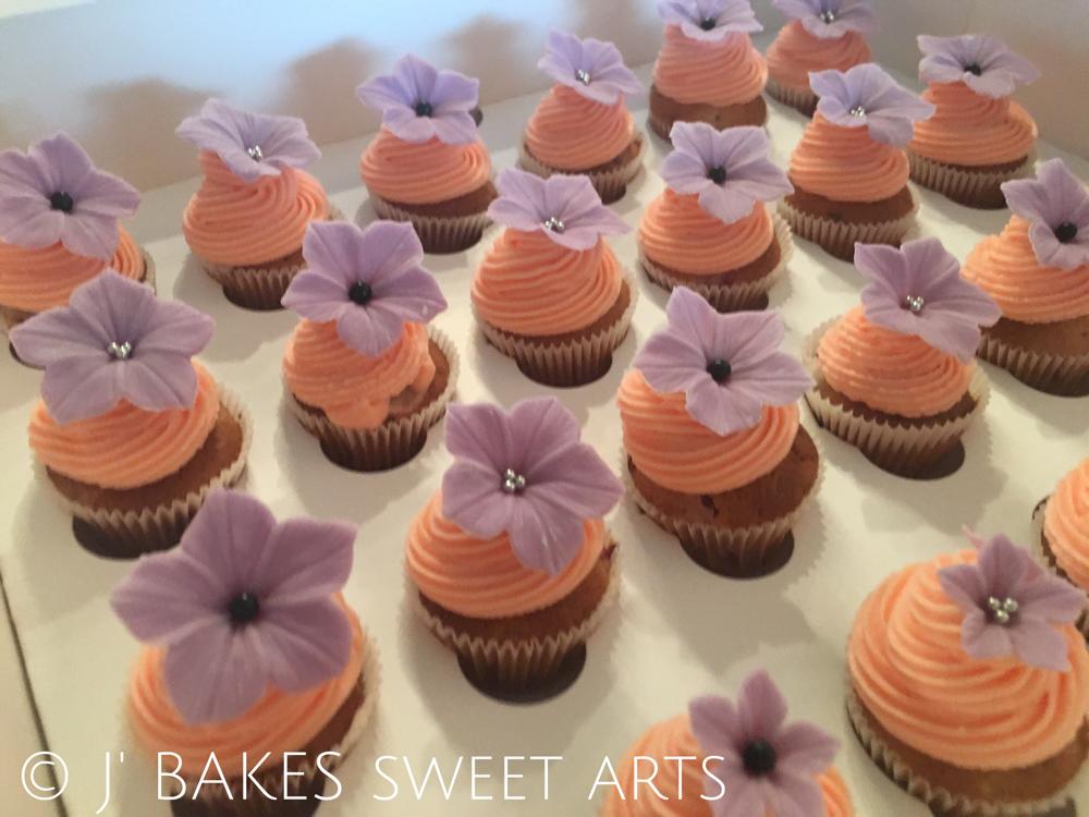 Himbeer-Mini-Cupcake // Raspberry-mini-cupcake
