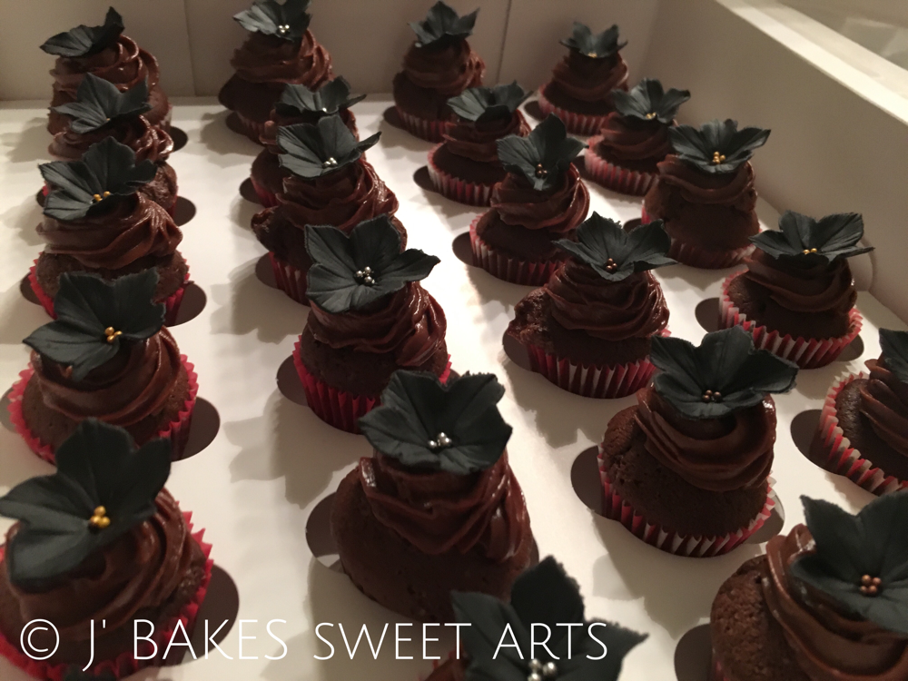 Schoggi-Mini-Cupcake // Chocolate-mini-cupcake