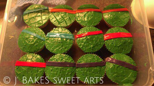 Turtels-Cupcake