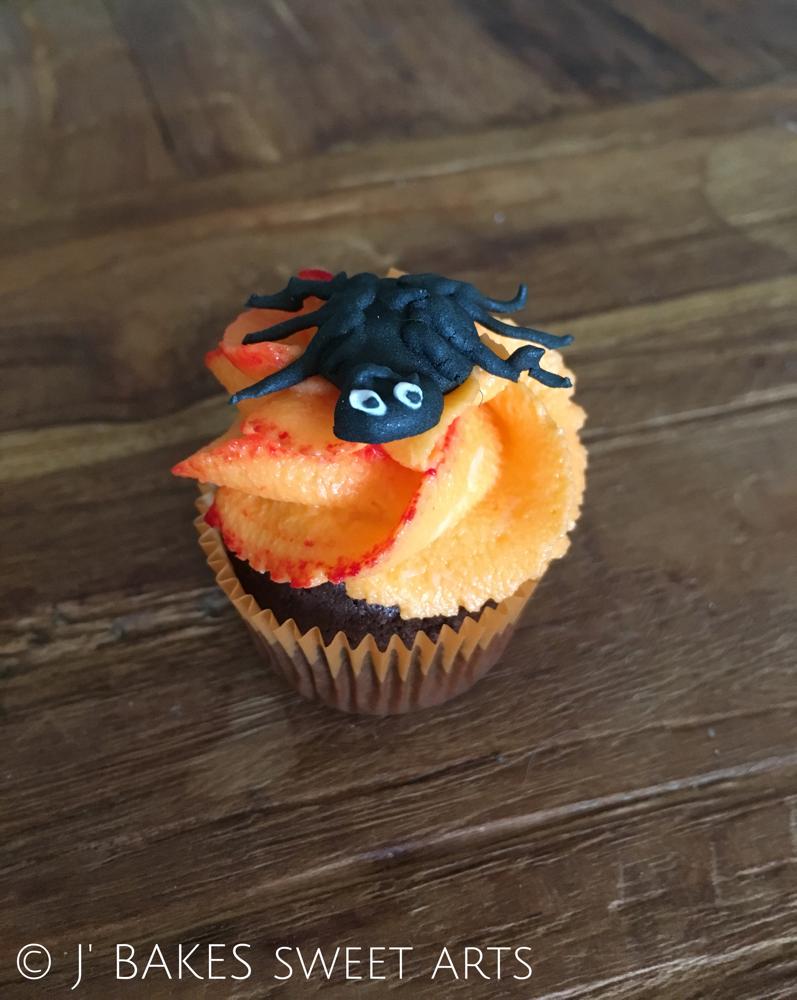 Halloween-Spider-Mini-Cupcake