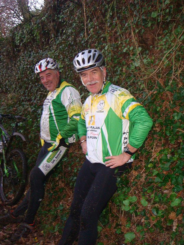 Yvon et Jean Noël, visiblement heureux malgré leur année supplémentaire.