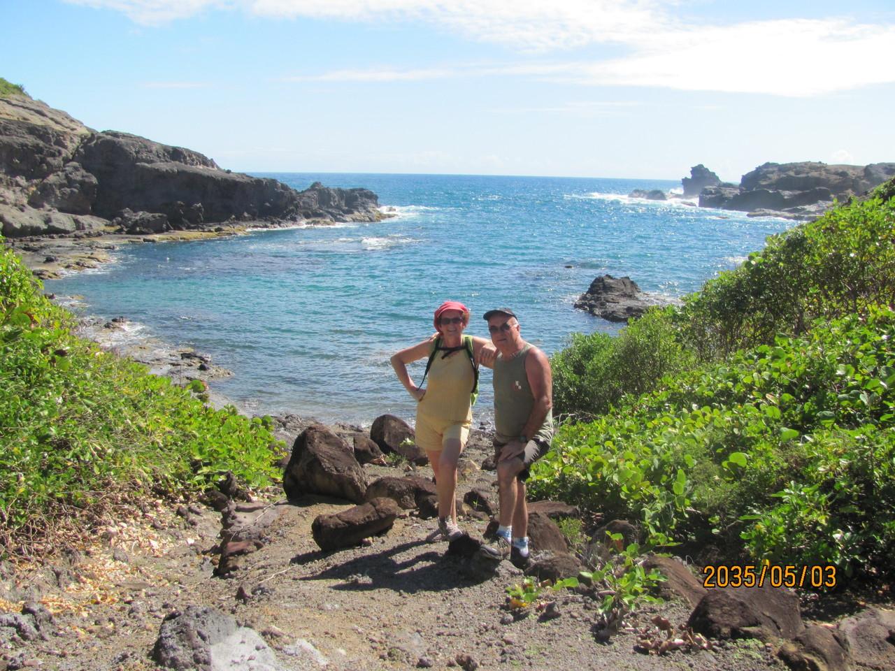 Tété et Gainche sous le soleil de la Martinique