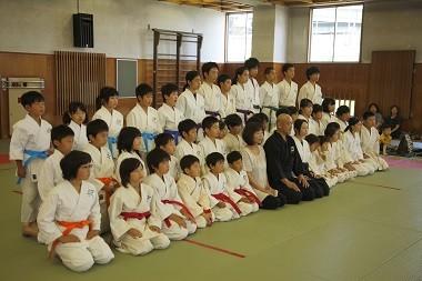第一回 2013年鴻心館合気道少年大会