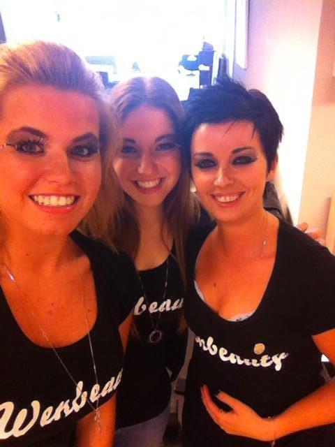 Shauny, Hayline & Mandy