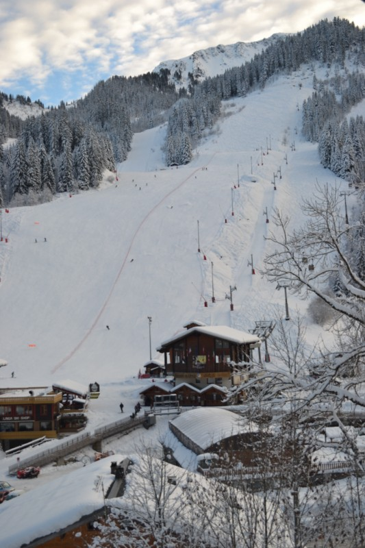 Pistes de ski au Linga à Châtel