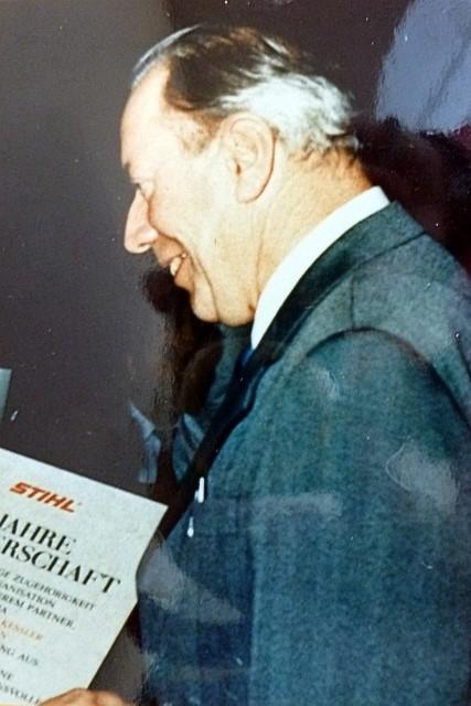 1961 Übernahme durch Josef Kessler