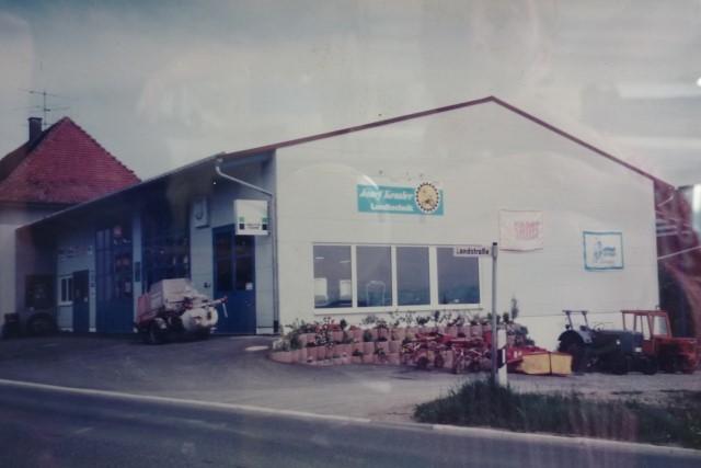 1996 Umbau Wertstatt