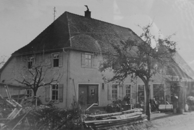 1950 Neubau Werkstatt