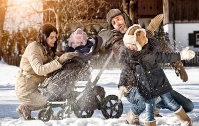 Fellsäcke für Buggy´s und Kinderwagen und Fellsack für Babyschalen im Wandl´s Gwandl