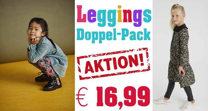 Doppelpack Aktion Leggin € 14,99 von name it