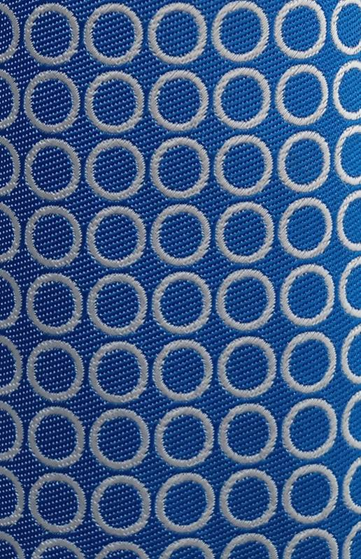 krawatte-blau-kreise-kinder-stoff
