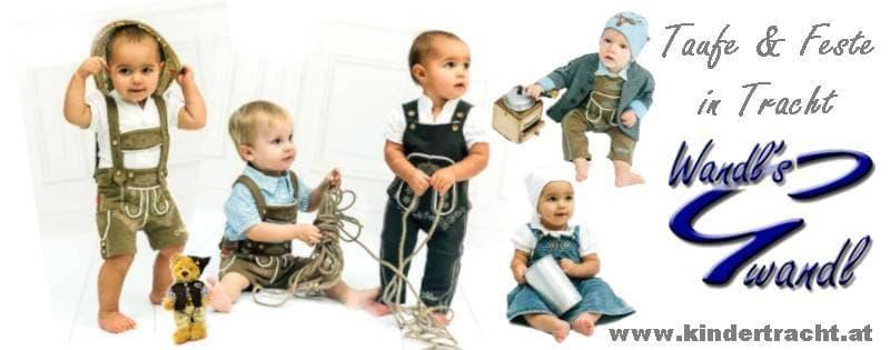 trachtenmode für babys und kinder bei wandls gwandl