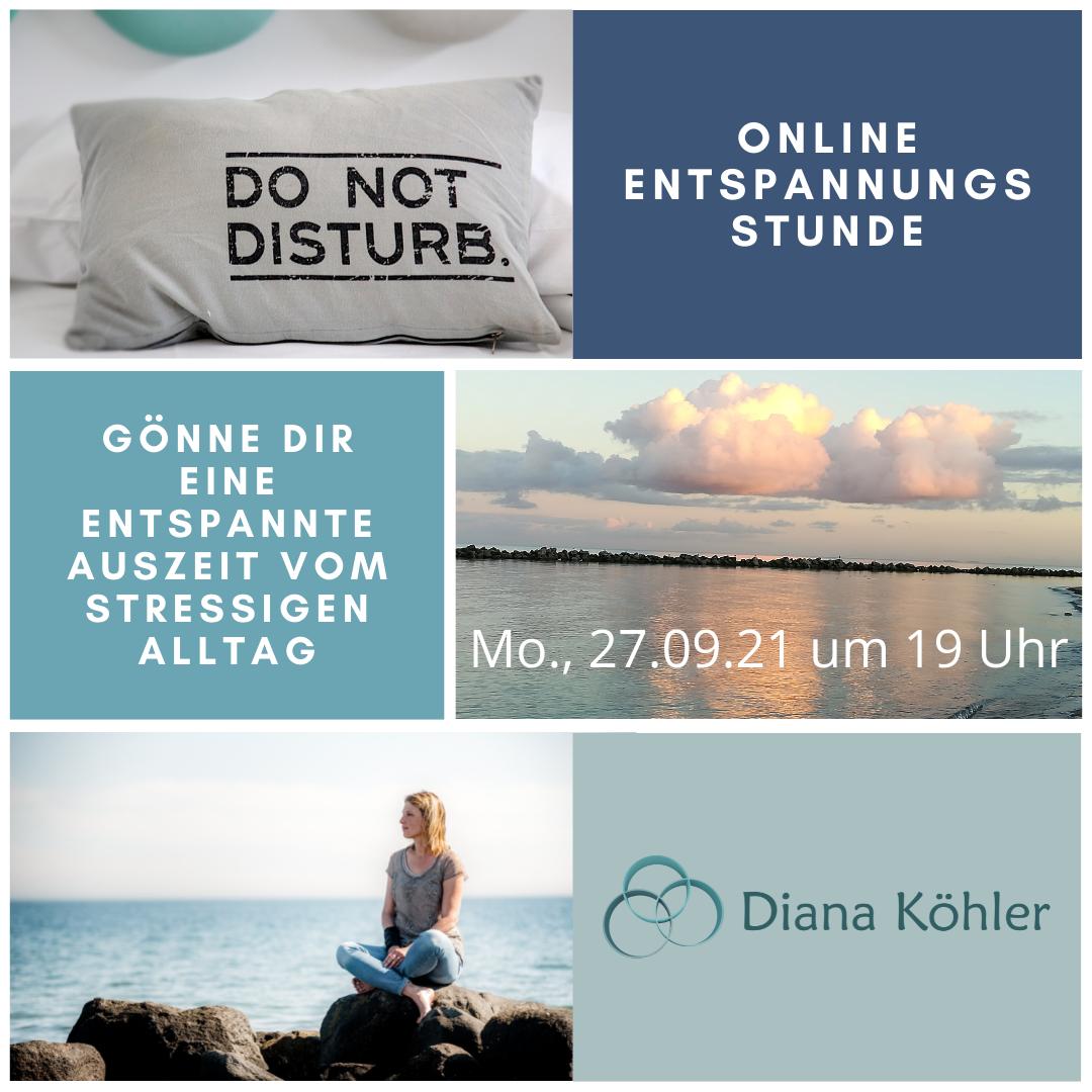 Online Entspannungsstunde im September