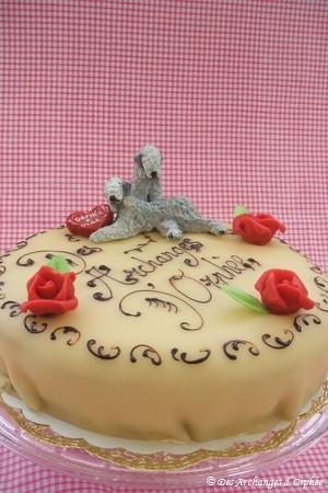 Le beau et bon gâteau !