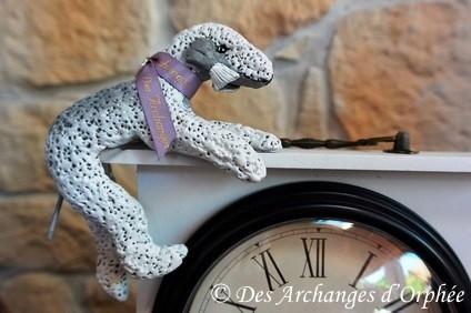 Sculpture horloge