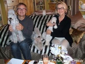 Visite de M. et Mme Castel - Décembre 2012.