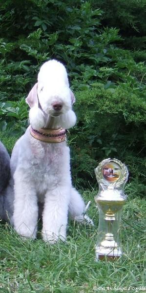 Tsarine avec son trophée Sarlandjugendsiegerin 2012