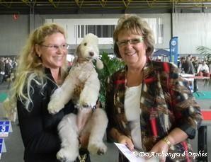 Tsarine jugée Best Baby par Mme Jacqui Hurley (GB)
