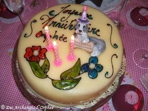 Orphée fête ses 3 ans.
