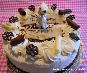 Gâteau de bienvenue Tsarine !