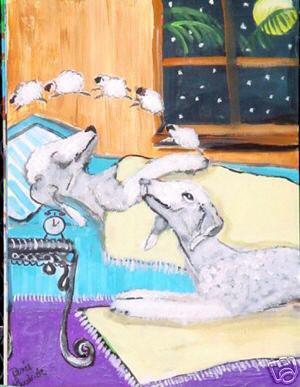 Orphée et Olga comptent les moutons !