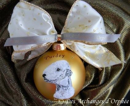 Boule de Noël Purdey