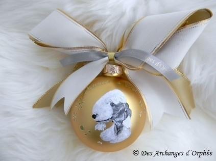 Boule de Noël Olga.
