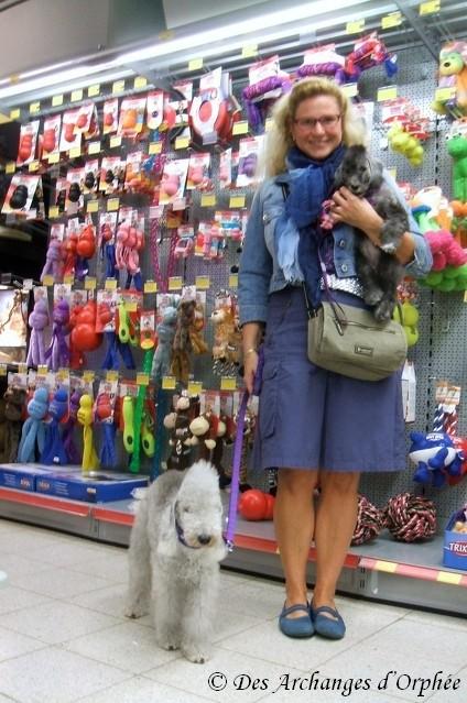 Au magasin avec Jaslane et Olga ♥