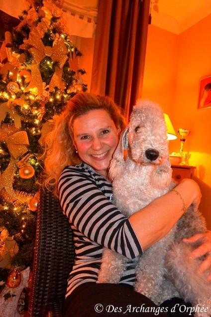 Avec ma Olga chérie !