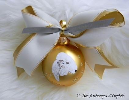 Boule de Noël Tsarine.