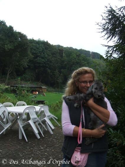 Au club canin du Rodenhof.
